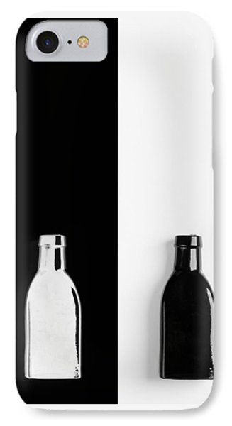 IPhone Case featuring the photograph Little Black  Bottle by Andrey  Godyaykin