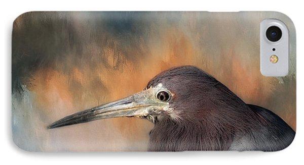 Little Blue Heron IPhone Case by Kim Hojnacki
