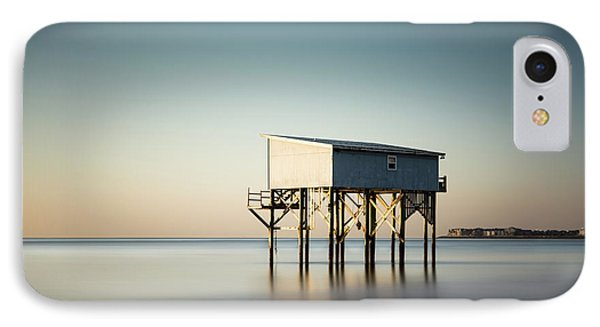 Little Blue Sunrise IPhone Case by Ivo Kerssemakers