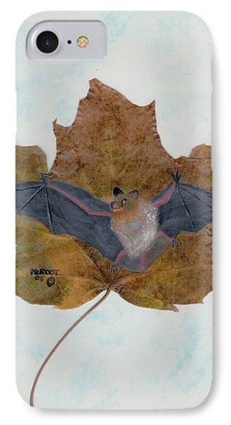 Little Brown Bat IPhone Case by Ralph Root