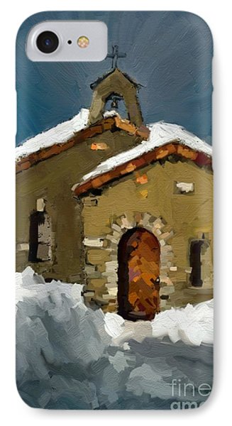 Little Brown Church IPhone Case by Carrie Joy Byrnes