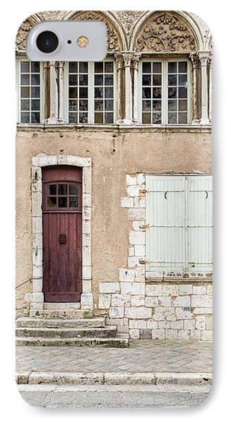 IPhone Case featuring the photograph Little Brown Door by Melanie Alexandra Price