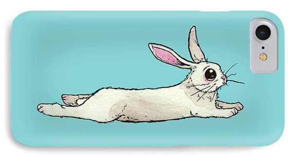 Little Bunny Rabbit IPhone Case by Katrina Davis