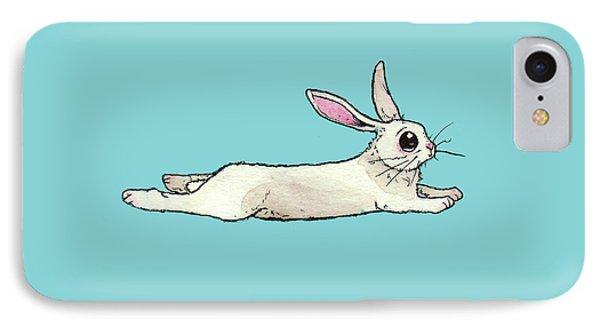 Little Bunny Rabbit IPhone 7 Case by Katrina Davis