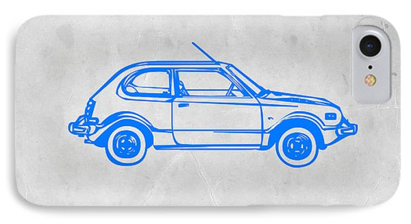 Little Car IPhone Case by Naxart Studio