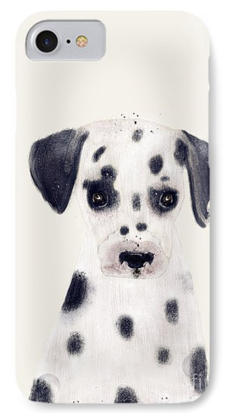 IPhone Case featuring the painting Little Dalmatian by Bri B