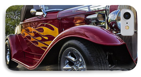 Little Deuce Coupe IPhone Case by Skip Tribby