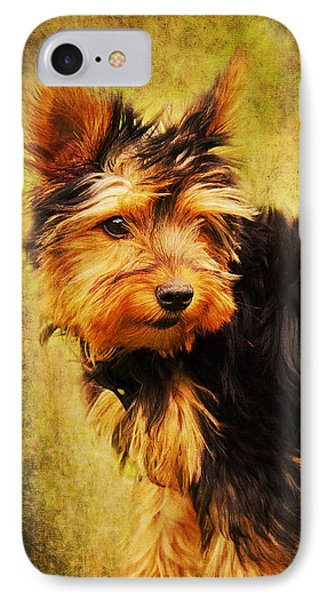 Little Dog II Phone Case by Angela Doelling AD DESIGN Photo and PhotoArt
