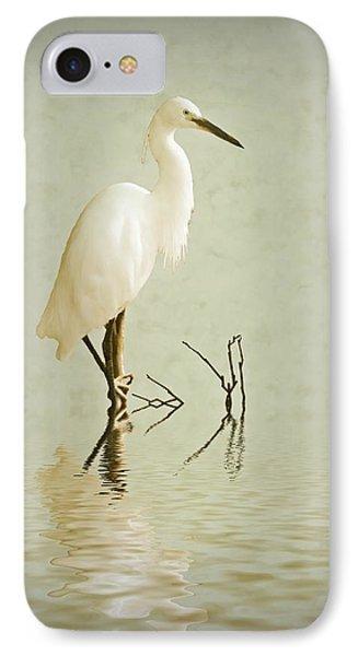Little Egret IPhone Case by Sharon Lisa Clarke