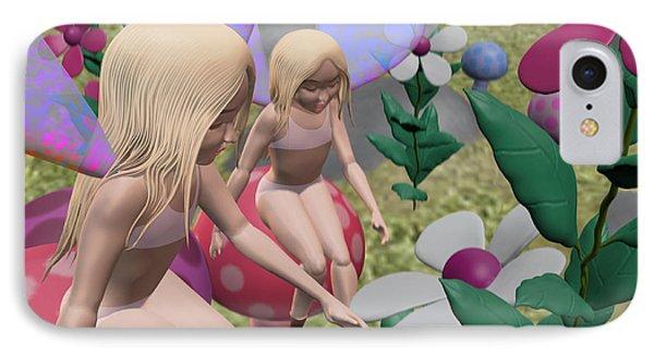 Little Fairies Phone Case by Kriss Orayan
