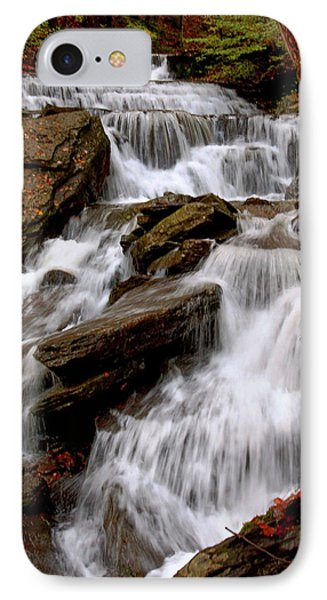 IPhone Case featuring the photograph Little Four Mile Run Falls by Suzanne Stout