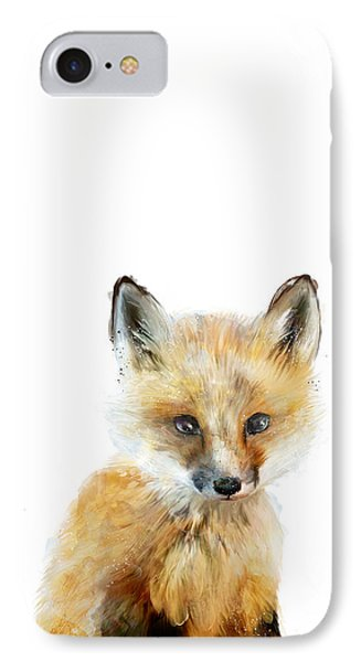 Little Fox IPhone Case by Amy Hamilton