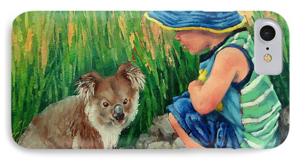 Little Friends IPhone Case by Margaret Stockdale