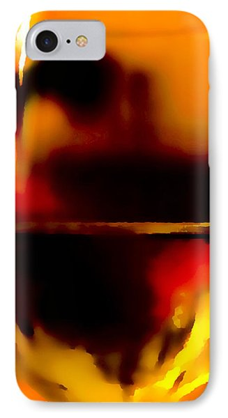 Little Glass Of Wine Phone Case by Stephen Anderson