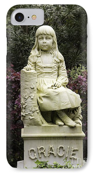 Little Gracie Bonaventure Cemetery IPhone Case