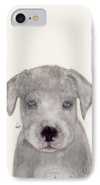 IPhone Case featuring the painting Little Great Dane by Bri B