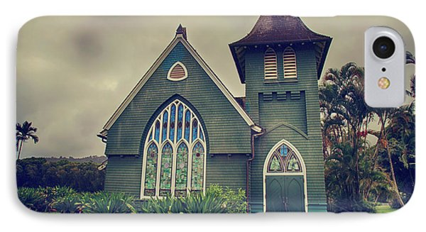 Little Green Church IPhone Case by Laurie Search