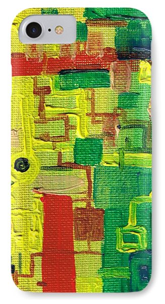Little Green Machine Phone Case by Regina Valluzzi
