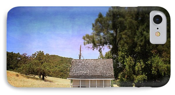 Little House IPhone Case by Laurie Search