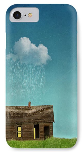 IPhone Case featuring the photograph Little House Of Sorrow by Juli Scalzi