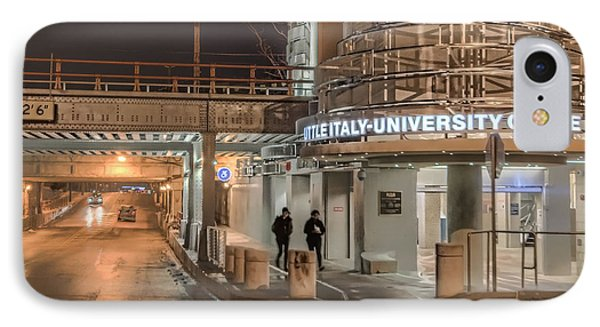 Little Italy Rta IPhone Case by Brent Durken