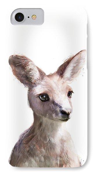 Portraits iPhone 7 Case - Little Kangaroo by Amy Hamilton