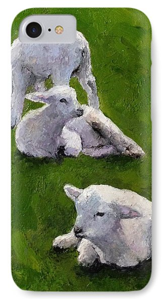 Little Lambs IPhone Case