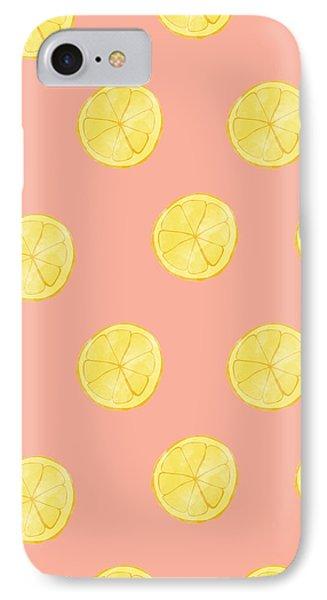 Little Lemons IPhone 7 Case by Allyson Johnson