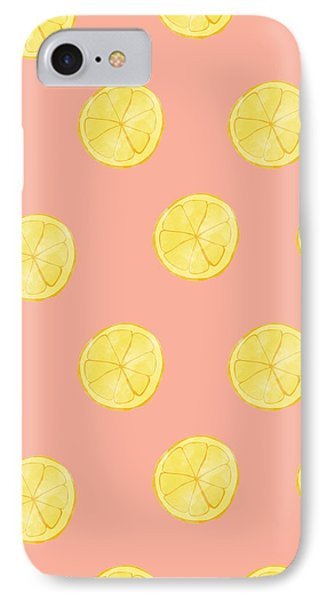 Little Lemons IPhone Case by Allyson Johnson