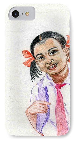 Little Manju Phone Case by Asha Sudhaker Shenoy