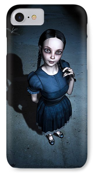 Little Miss Innocent IPhone Case by Britta Glodde