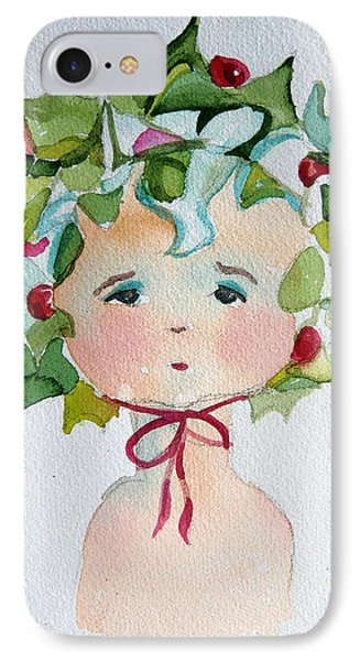 Little Miss Innocent Ivy Phone Case by Mindy Newman