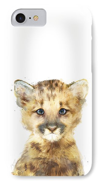 Little Mountain Lion IPhone 7 Case by Amy Hamilton