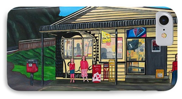 Little Oneroa Store Phone Case by Sandra Marie Adams