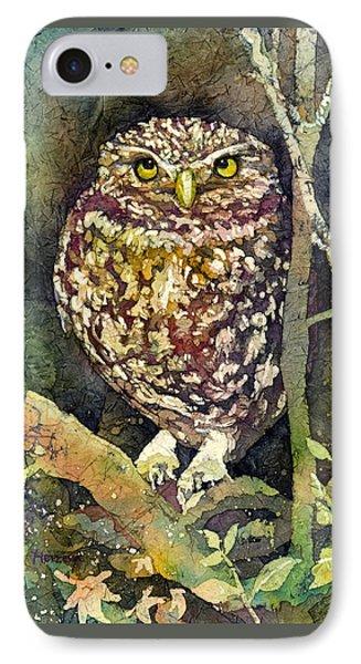 Little Owl IPhone Case by Hailey E Herrera