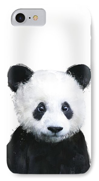 Little Panda IPhone Case by Amy Hamilton