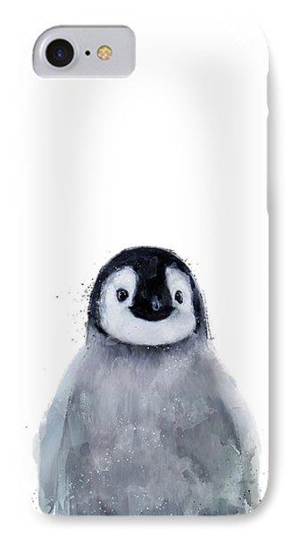 Penguin iPhone 7 Case - Little Penguin by Amy Hamilton
