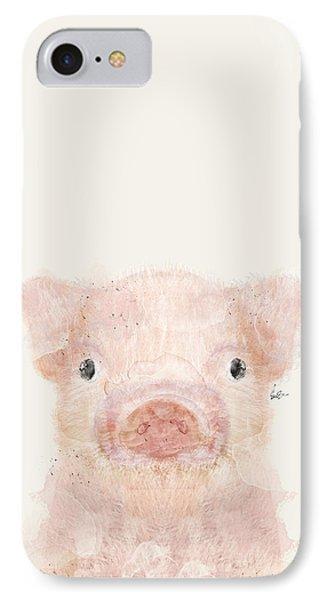 Little Pig IPhone 7 Case by Bri B