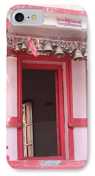 Little Pink Temple Up Close, Almora IPhone Case