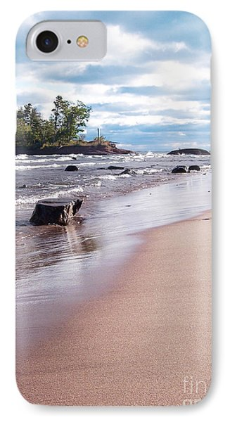 Little Presque Isle IPhone Case by Phil Perkins