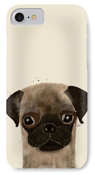 IPhone Case featuring the photograph Little Pug by Bri B