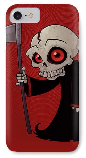 Little Reaper Phone Case by John Schwegel