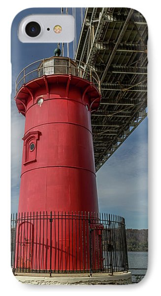Little Red Lighthouse IPhone Case