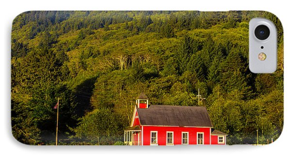 Little Red School House IPhone Case by Garry Gay