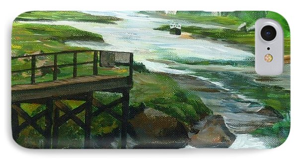 Little River Gloucester Study IPhone Case