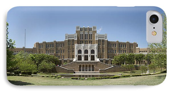 Little Rock Central High Panoramic IPhone Case by Stephen Stookey