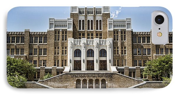 Little Rock Central High IPhone Case by Stephen Stookey