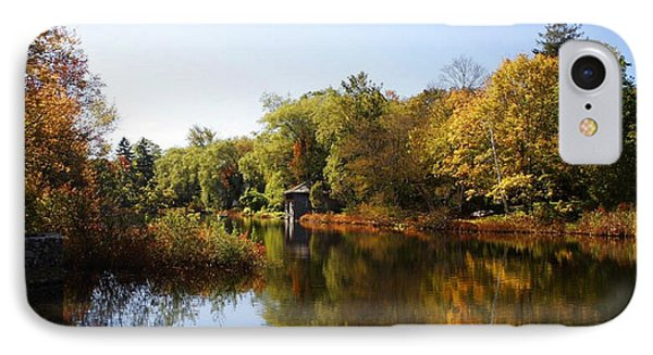 Little Shawme Pond In Sandwich Massachusetts IPhone Case