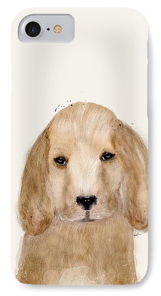 IPhone Case featuring the painting Little Spaniel by Bri B