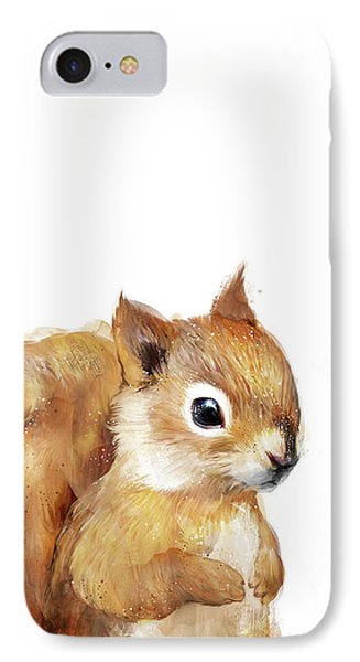 Little Squirrel IPhone Case by Amy Hamilton